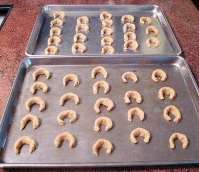 unbaked crescents