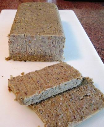 ... crisped and browned in butter, my scrapple looked much more appealing