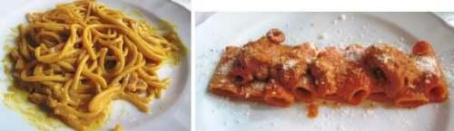 two pastas