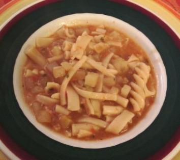 pasta and potato soup